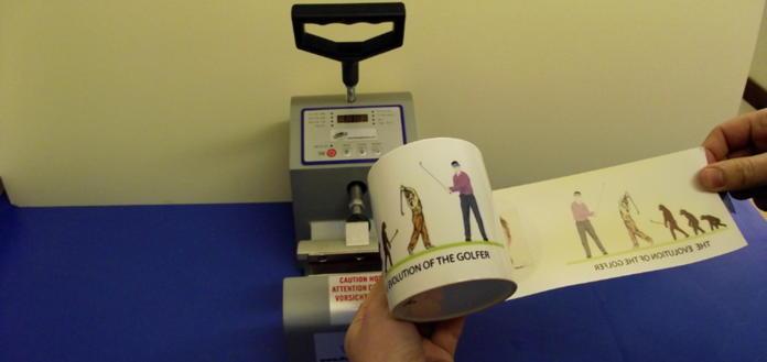 Hot Press Printing